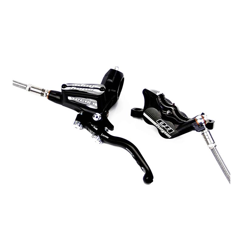 Hope Tech 3 E4 Braided Hydraulic Disc Brake Set