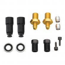 Jagwire/Avid Pro/Code/Elixir 1/3 Quick-Fit Brake Hose Adaptor Kit