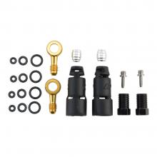 Jagwire/SRAM/Avid Pro/Level/Code Ultimate/TLM/R/RSC Quick-Fit Brake Hose Adaptor Kit