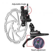 Tektro Gemini SL HD-M521 Hydraulic Disc Brake Set