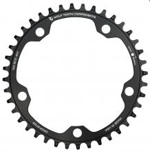 Wolf Tooth Drop-Stop Round Single Chainring - Black