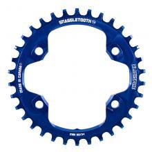 Blackspire/Shimano Snaggletooth/XT FC-M8000 Round Single Chainring - Blue
