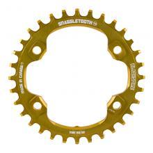Blackspire/Shimano Snaggletooth/XT FC-M8000 Round Single Chainring - Gold