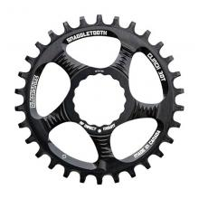 Blackspire/Race Face Snaggletooth Round Single Chainring - Black