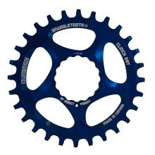 Blackspire Snaggletooth Round Single Chainring - Blue