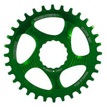 Blackspire Snaggletooth Round Single Chainring - Green