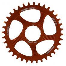 Blackspire/Race Face Snaggletooth Round Single Chainring - Orange