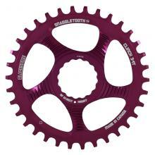 Blackspire/Race Face Snaggletooth Round Single Chainring - Purple