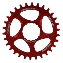 Blackspire/Race Face Snaggletooth Round Single Chainring - Red