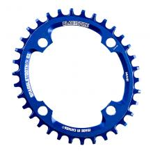 Blackspire Snaggletooth Oval Single Chainring - Blue