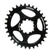 Blackspire Snaggletooth Oval Single Chainring - Red