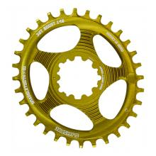 Blackspire Snaggletooth Oval Single Chainring - Gold
