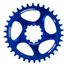 Blackspire/SRAM Snaggletooth GXP Round Single Chainring - Blue