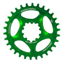 Blackspire/SRAM Snaggletooth GXP Round Single Chainring - Green