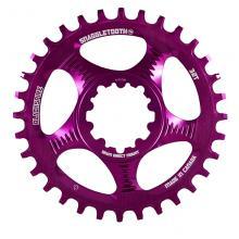 Blackspire/SRAM Snaggletooth GXP Round Single Chainring - Purple
