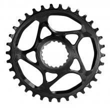 Absolute Black Round Single Chainring - Black
