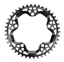 Absolute Black CX Round Single Chainring - Black