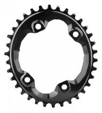 Absolute Black XT FC-M8000 Oval Single Chainring - Black