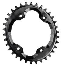 Absolute Black XTR FC-M9000 Integrated Threads Oval Single Chainring - Black