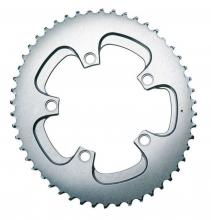 Absolute Black Oval Chainring - Grey