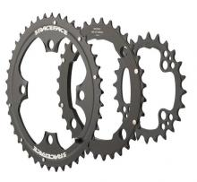 Race Face Evolve Round Inside/Middle/Outside Chainring Set - Black