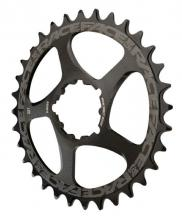 Race Face Round Single Chainring - Black