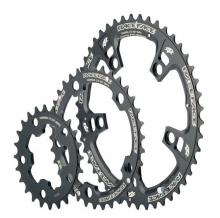 Race Face Round Inside/Middle/Outside Chainring Set