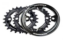 Race Face Turbine Round Inside/Middle/Outside Chainring Set