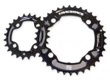 Race Face Turbine Round Inside/Middle Chainring Set - Black