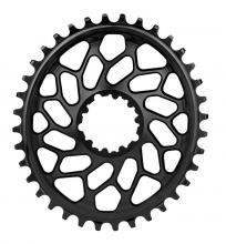 Absolute Black Oval Single Chainring - Black