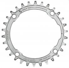 Wolf Tooth Round Single Chainring - Silver