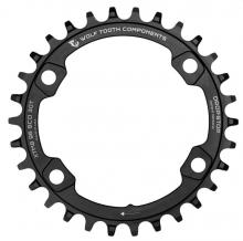 Wolf Tooth Drop-Stop/XT FC-M8000 Round Single Chainring - Black