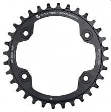 Wolf Tooth Drop-Stop/XTR FC-M9000 Round Single Chainring - Black