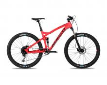 "2017 Norco Fluid 7.2 FS 26"" Aluminium Suspension Frame - Red"