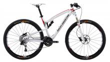 "2013 Rocky Mountain Element 950 29"" Aluminium Suspension Frame - White/Red"