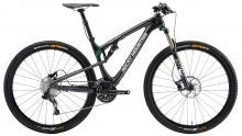 "2013 Rocky Mountain Element 970 RSL BC Edition 29"" Carbon Fiber Suspension Frame - Black/Green"