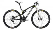 "2013 Rocky Mountain Element 970 RSL 29"" Carbon Fiber Suspension Frame - Black/White/Yellow"