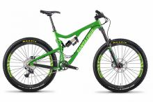 "2013/2014/2015 Santa Cruz Bronson 27.5"" Carbon Fiber Suspension Frame - Green"