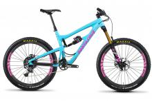"2014/2015/2016 Santa Cruz Nomad 27.5"" Carbon Fiber Suspension Frame - Blue/Pink"