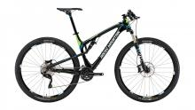"2014 Rocky Mountain Element 950 RSL 29"" Carbon Fiber Suspension Frame - Black/Green/Blue"