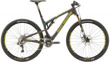 "2015 Rocky Mountain Element 999 RSL 29"" Carbon Fiber Suspension Frame - Black/Yellow"