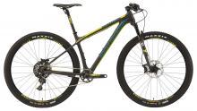 "2015 Rocky Mountain Vertex 990 RSL 29"" Carbon Fiber Rigid Frame - Black/Yellow/Teal"