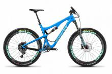 2016/2017/2018 Santa Cruz 5010 Carbon Fiber Suspension Frame - Blue