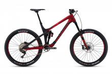 "2017 Rocky Mountain Slayer 770 MSL 27.5"" Carbon Fiber/Aluminium Suspension Frame - Black/Red"