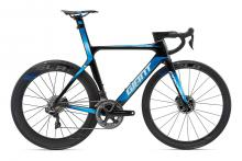 2018 Giant Propel Advanced 0 SL Disc 700C Carbon Fiber Rigid Frame - Black/Blue