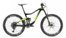 "2018 Giant Trance Advanced 0 27.5"" Carbon Fiber/Aluminium Suspension Frame - Black/Green"