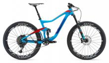 "2018 Giant Trance Advanced 1 27.5"" Carbon Fiber/Aluminium Suspension Frame - Blue/Red"