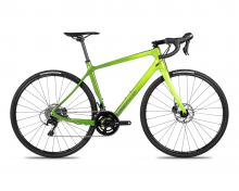 2018 Norco Search C 105 700C Carbon Fiber Rigid Frame - Green/Neon Green