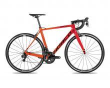 2018 Norco Tactic Ultegra Di2 700C Carbon Fiber Rigid Frame - Orange/Red