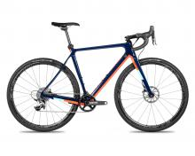 2018 Norco Threshold C Force 1 700C Carbon Fiber Rigid Frame - Blue/Orange
